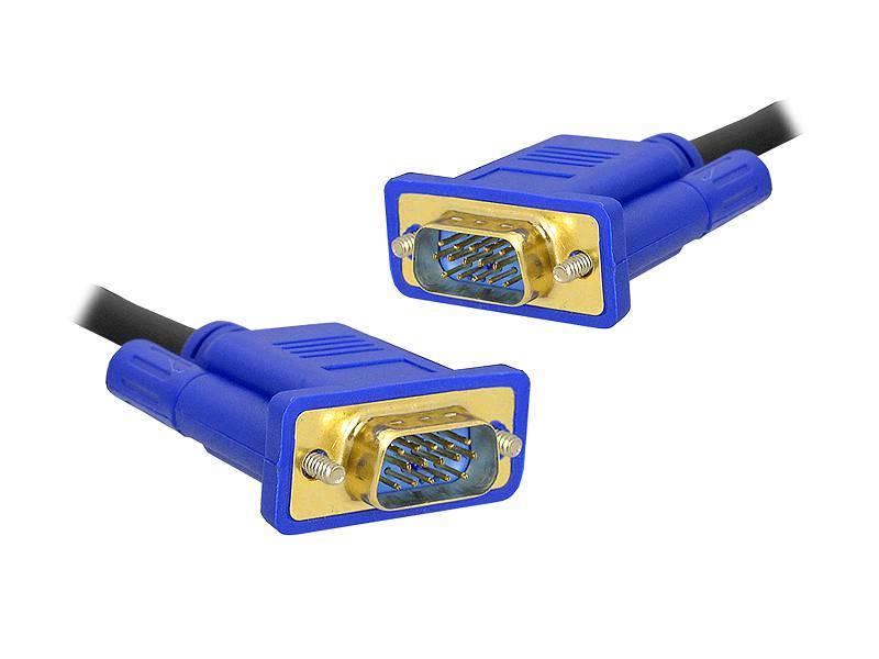 Kabel komputerowy SVGA wtyk - SVGA wtyk 15m