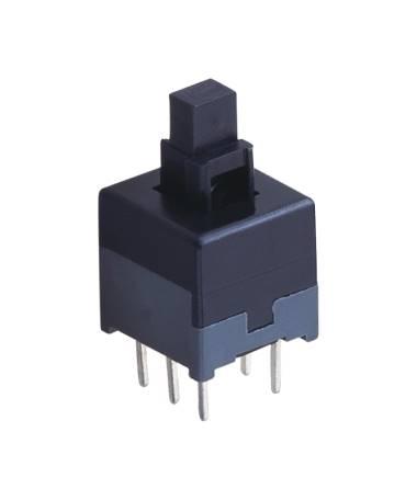 Przycisk mini PB08B podwójny bistabilny PCB 8x8mm
