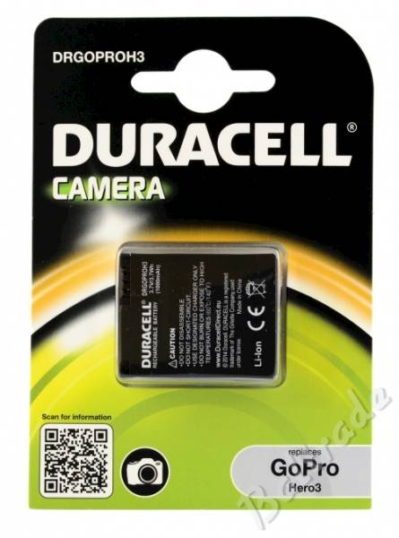 Akumulator Duracell do GoPro Hero3