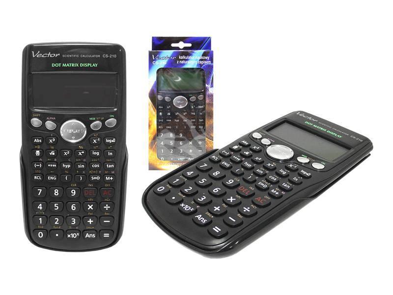 Kalkulator naukowy VECTOR CS-210