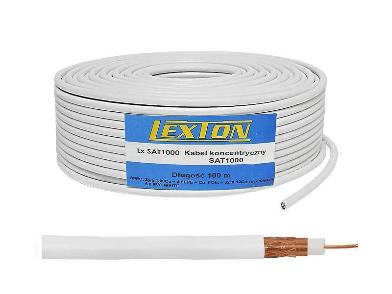 Kabel koncentryczny1Cu+32x0.12Cu+ekran Cu 100