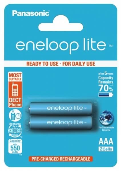 Akumulator R6 2BL 950mAh Panasonic Eneloop lite