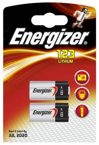 Bateria litowa CR123 2BL Energizer bateria