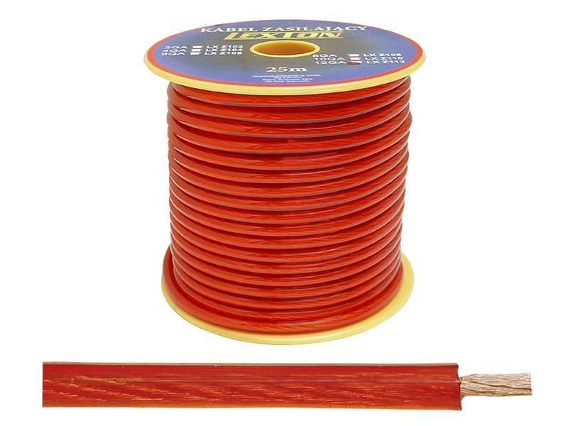 Kabel zasilający 12GA / 4,5mm CCA