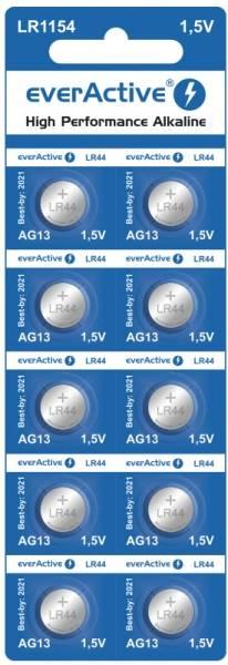 Bateria G13 LR1154 everActive Alkaline