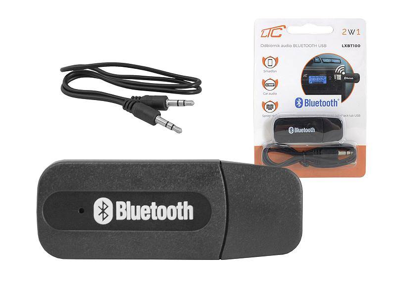 Odbiornik audio Bluetooth do radia USB BT100
