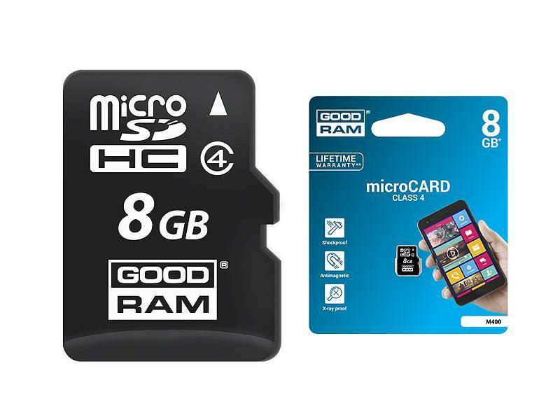 Karta microSD 8GB GOODRAM