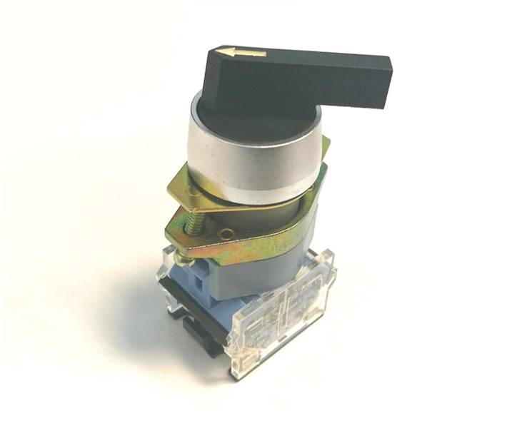 Przełącznik obrotowy ON-OFF-ON 10A 600V