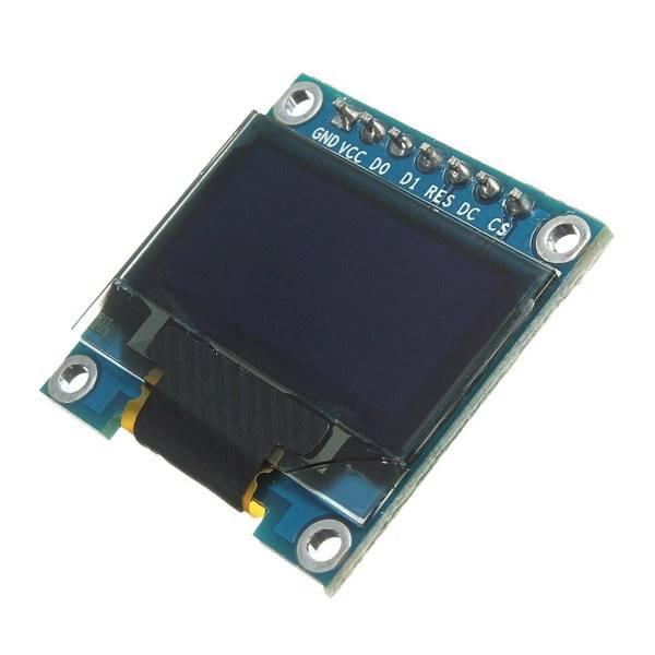 Moduł wyświetlacza OLED 128x64 niebieski