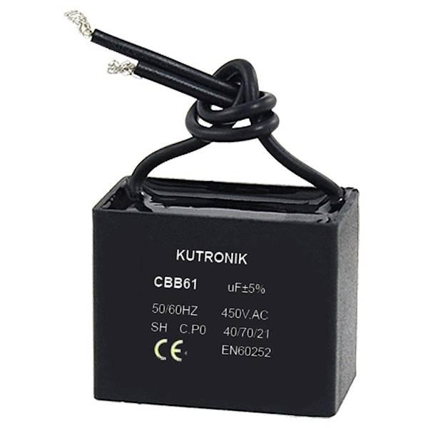 Kondensator silnikowy 1uF / 450VAC