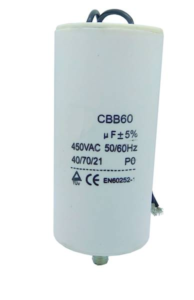 Kondensator silnikowy 16uF/450V