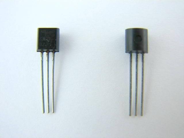 Tranzystor BC560B PHI TO92
