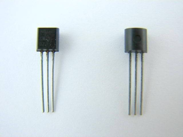 Tranzystor BC546B TO92
