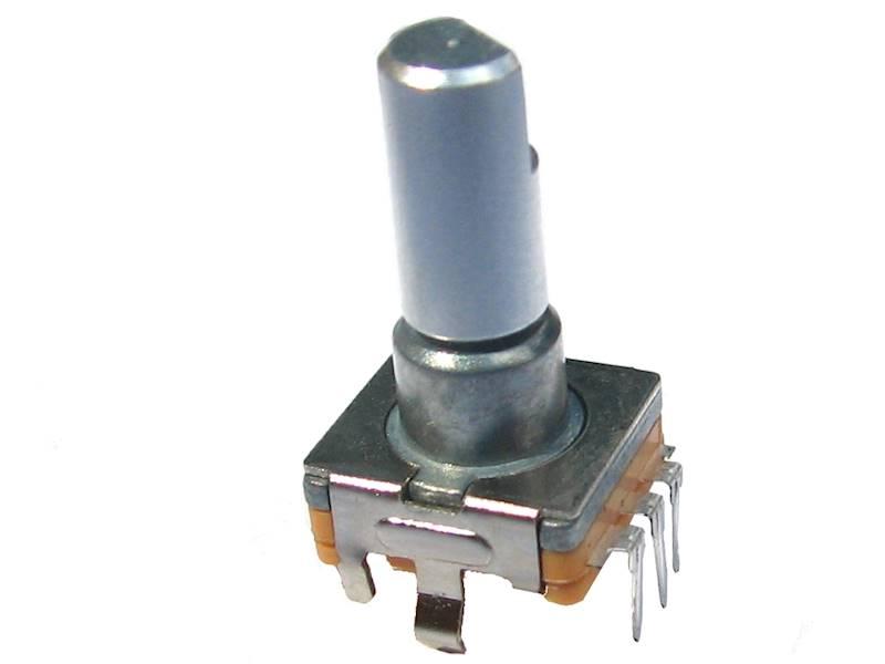 Enkoder 30 impulsy  l=15mm z przyciskiem