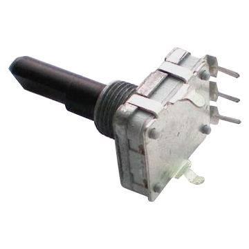 Enkoder 24 impulsy  l=20mm EC16 pionowy