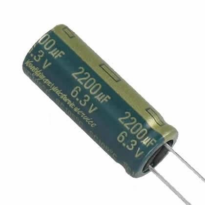 Kondensator elektrolityczny 1500uF / 6.3V