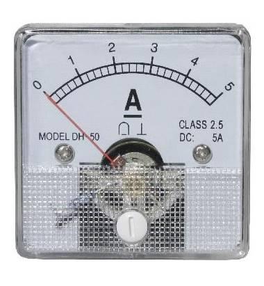 Miernik analogowy panelowy amperomierz 5A