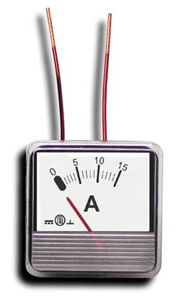 Miernik analogowy panelowy amperomierz 3A MP