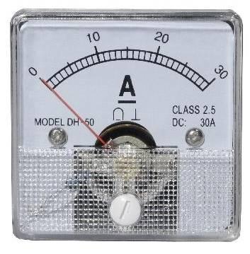 Miernik analogowy panelowy amperomierz 30A