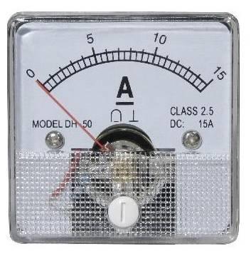 Miernik analogowy panelowy amperomierz 15A