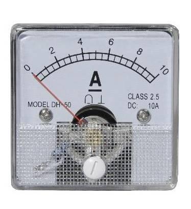 Miernik analogowy panelowy amperomierz 10A