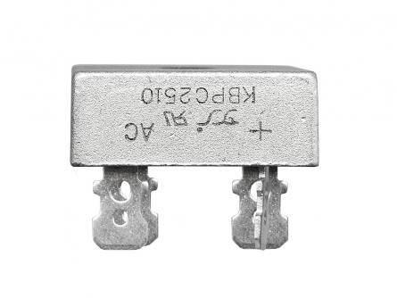 Mostek prostowniczy 25A 1000V kostka metalowa