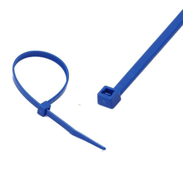 Opaska kablowa 3,6x140mm niebieska
