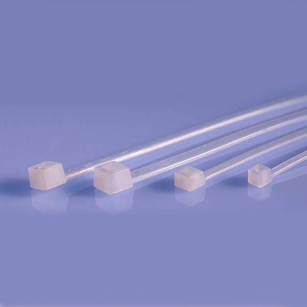 Opaska kablowa 2,5x135mm biała