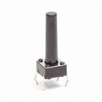 Tact  switch 6x6mm h=13,5mm