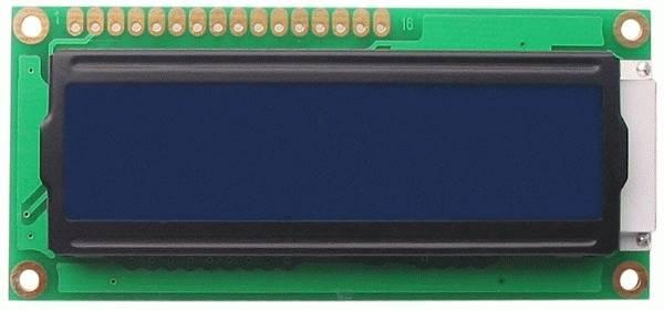 Wyświetlacz LCD 2x16 niebieski  HD44780