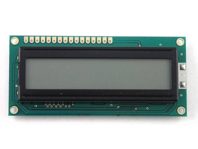 Wyświetlacz LCD 2x16 80x36 białe podświetlenie