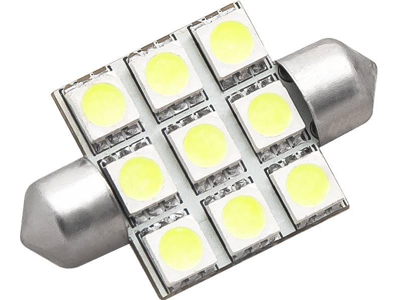 Żarówka samochodowa  C5W LED biała