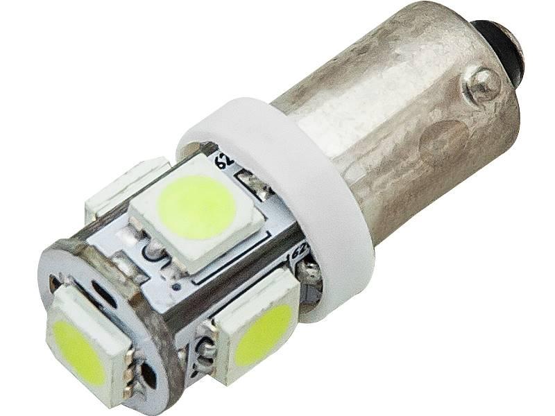 Żarówka samochodowa  LED BA9 biała