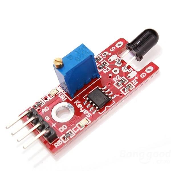 Moduł czujnika płomienia / ognia do Arduino