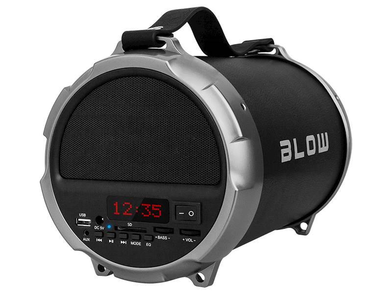 Głośnik przenośny bluetooth BT1000 czarny
