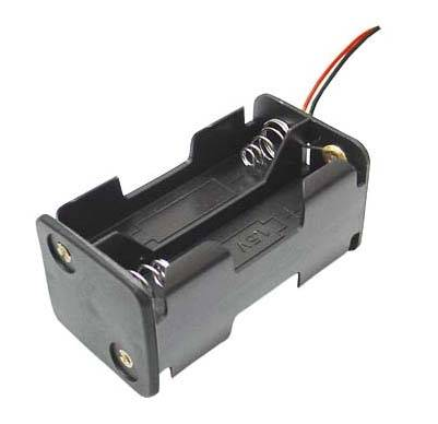 Koszyk na 4 baterie typu AA kwadratowy (1,5V)