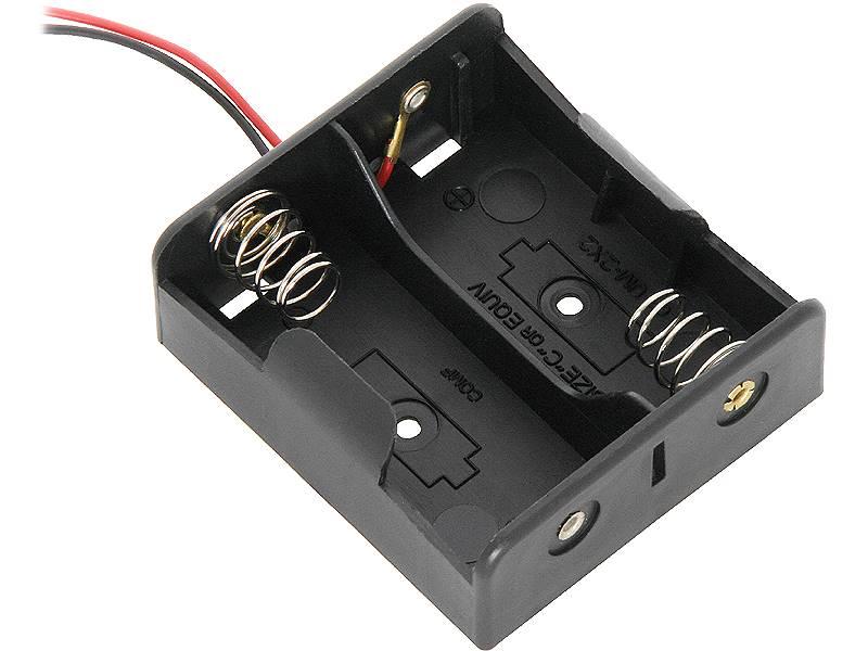 Koszyk  na 2 baterie typ R14