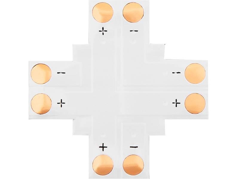 Konektor do taśm LED krzyżowy