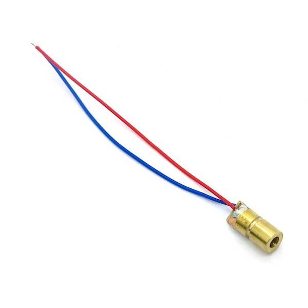Laser 3-5V moc 5mW 650nm