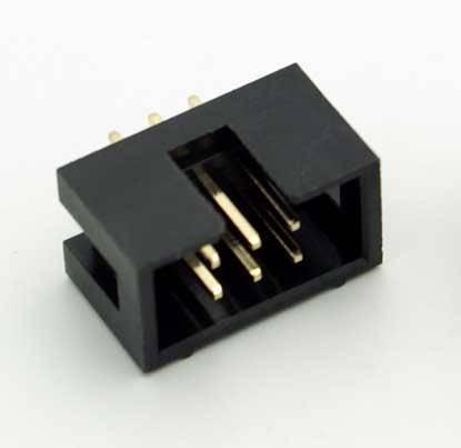 IDC wtyk 6 PIN męski proste do druku