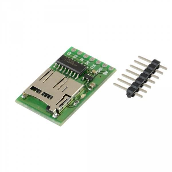 Moduł czytnika micro SD z konwerterem