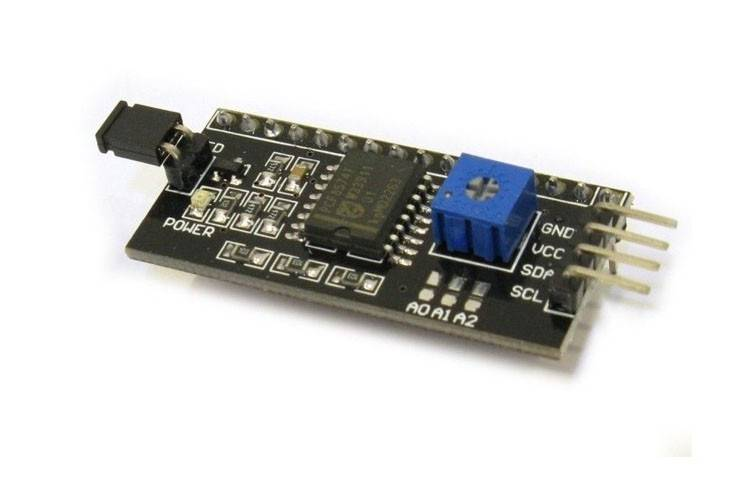 Konwerter I2C do wyświetlacza LCD 2x16