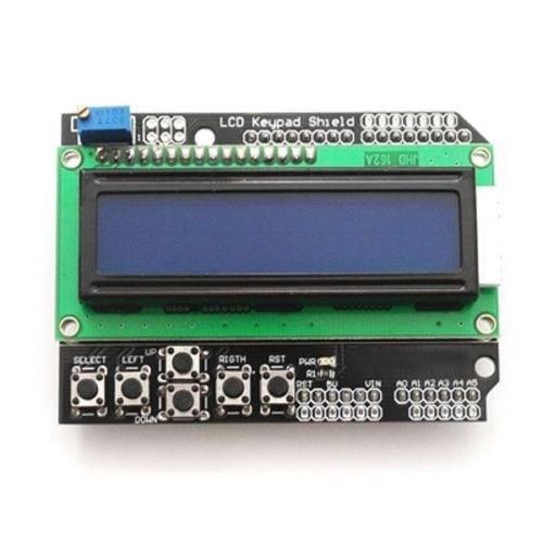 Shield LCD 2x16 niebieski z klawiaturą
