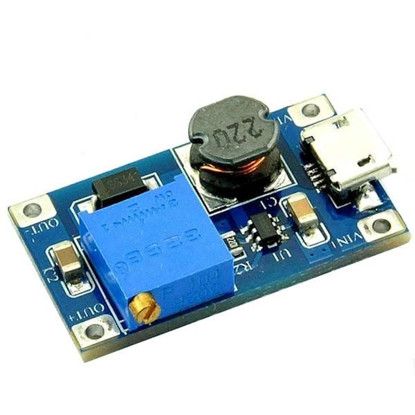 Przetwornica napięcia Step-Up micro USB