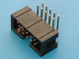 IDC wtyk 10 PIN kątowy do druku