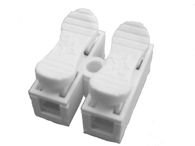 Kostka elektryczna samozaciskowa 2PIN 10A 380V