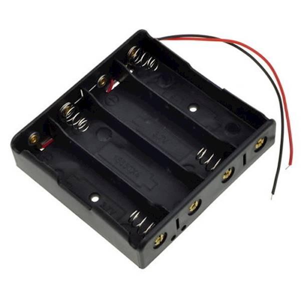 Koszyk na 4 baterie typu 18650