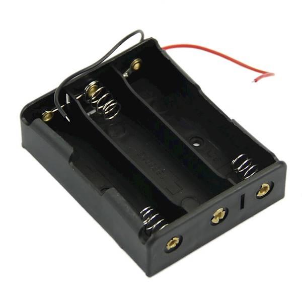 Koszyk na 3 baterie typu 18650