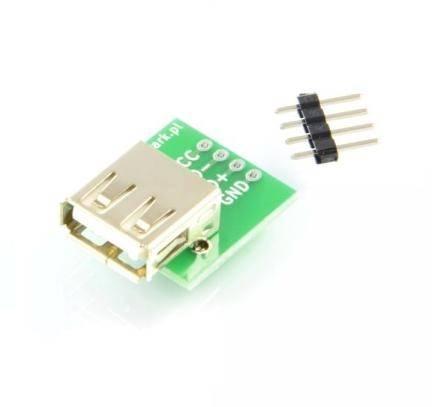 Gniazdo USB A do płytki prototypowej
