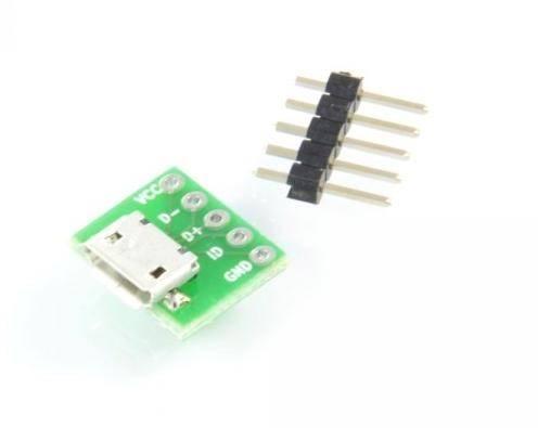 Gniazdo micro USB do płytki prototypowej